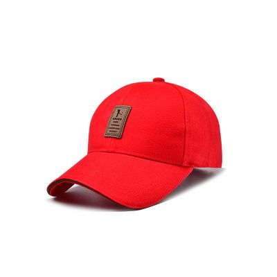 Mens Red Outdoor Sports Cap