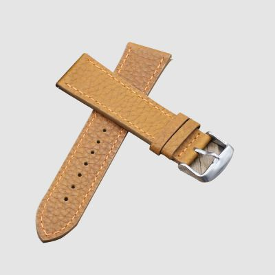 Tan Wrist Band Leather Watch Straps